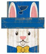 "St. Louis Blues 19"" x 16"" Easter Bunny Head"