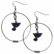 "St. Louis Blues 2"" Hoop Earrings"