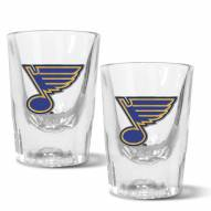 St. Louis Blues 2 oz. Prism Shot Glass Set