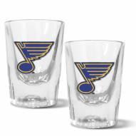 St. Louis Blues 2 oz. Prism Shot Glass Set