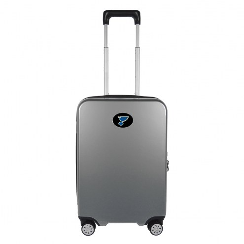 """St. Louis Blues 22"""" Hardcase Luggage Carry-on Spinner"""