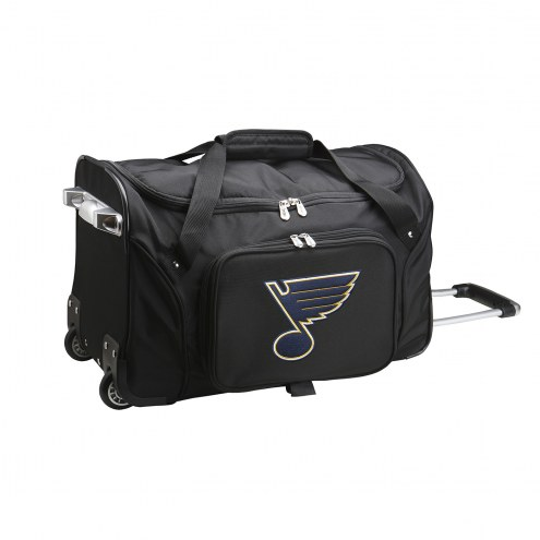 "St. Louis Blues 22"" Rolling Duffle Bag"