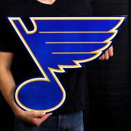 """St. Louis Blues 24"""" Steel Logo Sign"""