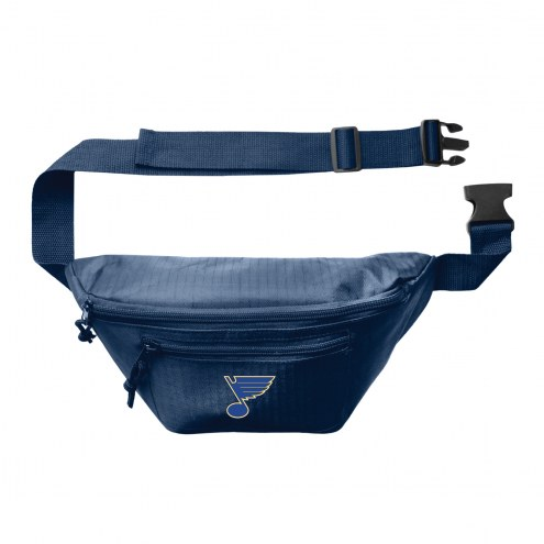 St. Louis Blues 3-Zip Hip Fanny Pack