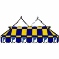 """St. Louis Blues 40"""" Stained Glass Billiard Lamp"""