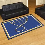 St. Louis Blues 5' x 8' Area Rug