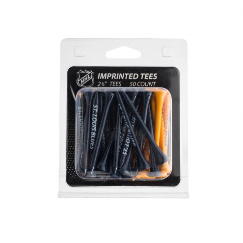 St. Louis Blues 50 Golf Tee Pack