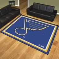 St. Louis Blues 8' x 10' Area Rug