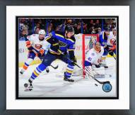 St. Louis Blues Alexander Steen Action Framed Photo