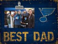 St. Louis Blues Best Dad Clip Frame