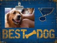 St. Louis Blues Best Dog Clip Frame