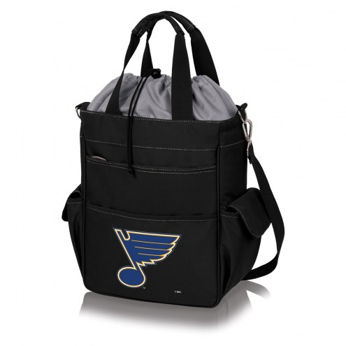 St. Louis Blues Black Activo Cooler Tote