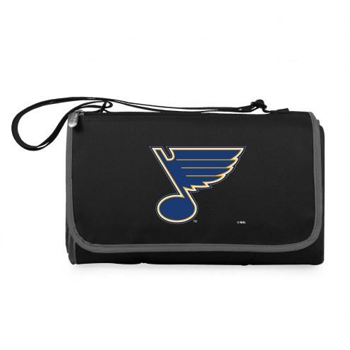 St. Louis Blues Black Blanket Tote