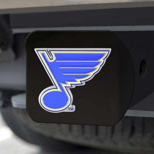 St. Louis Blues Black Color Hitch Cover