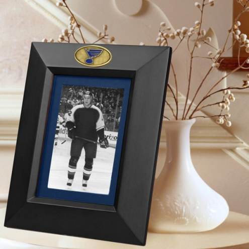 St. Louis Blues Black Picture Frame