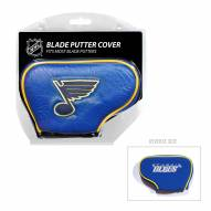 St. Louis Blues Blade Putter Headcover