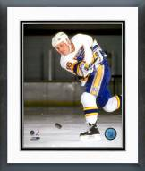 St. Louis Blues Brett Hull 1990-91 Action Framed Photo