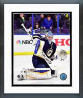 St. Louis Blues Brian Elliott Action Framed Photo