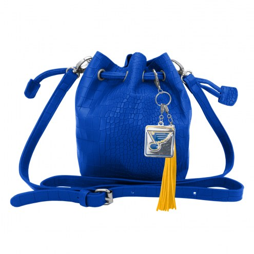 St. Louis Blues Charming Mini Bucket Bag