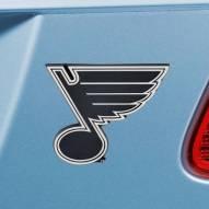 St. Louis Blues Chrome Metal Car Emblem
