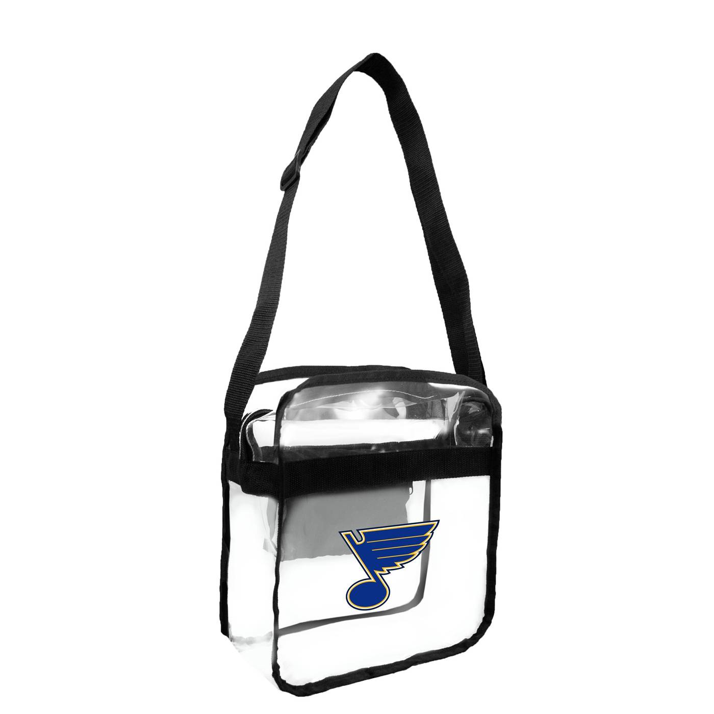 Designed To Work Within Most Stadium Roved Bag Guidelines The St Louis Blues Clear Crossbody Carry All Makes A Great Day Tote