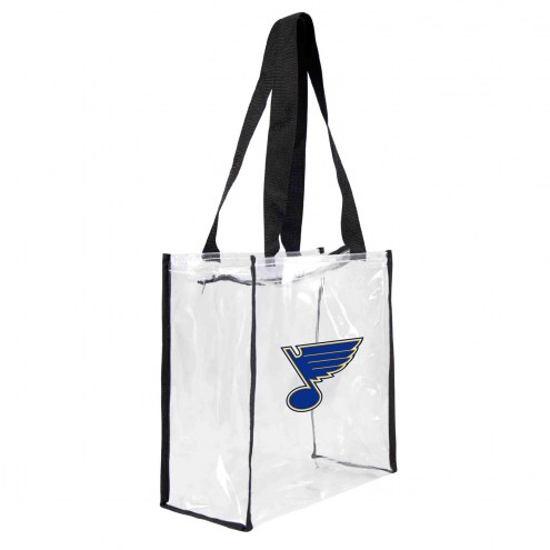 St. Louis Blues Clear Square Stadium Tote
