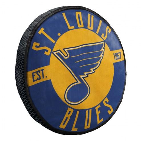 St. Louis Blues Cloud Travel Pillow