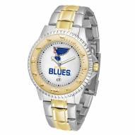 St. Louis Blues Competitor Two-Tone Men's Watch