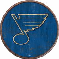 "St. Louis Blues Cracked Color 16"" Barrel Top"