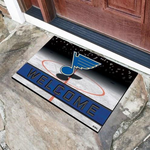 St. Louis Blues Crumb Rubber Door Mat