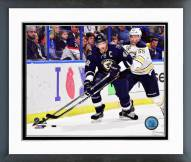 St. Louis Blues David Backes Action Framed Photo