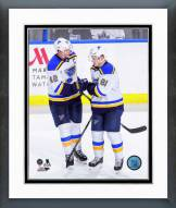 St. Louis Blues David Backes & Vladimir Tarasenko Framed Photo