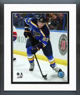 St. Louis Blues Dmitrij Jaskin Action Framed Photo