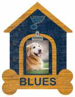 St. Louis Blues Dog Bone House Clip Frame