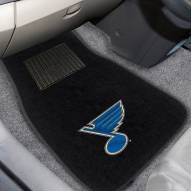 St. Louis Blues Embroidered Car Mats