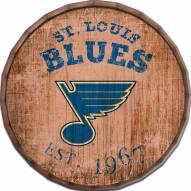 "St. Louis Blues Established Date 16"" Barrel Top"