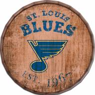 "St. Louis Blues Established Date 24"" Barrel Top"