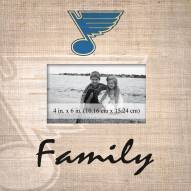 St. Louis Blues Family Picture Frame