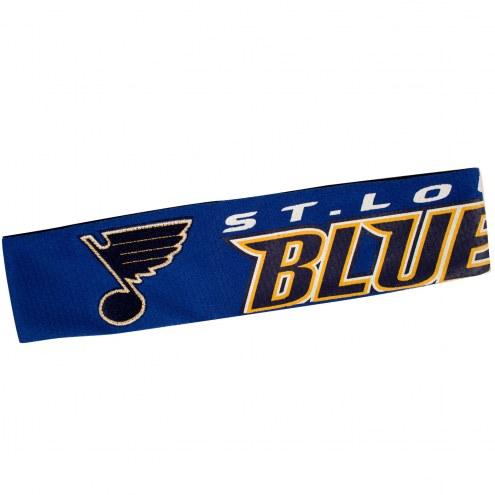St. Louis Blues FanBand Jersey Headband