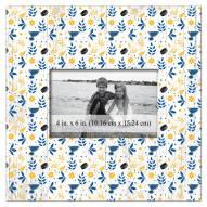 "St. Louis Blues  Floral Pattern 10"" x 10"" Picture Frame"