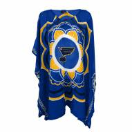 St. Louis Blues Flower Caftan