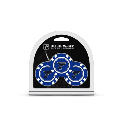 St. Louis Blues Golf Chip Ball Markers