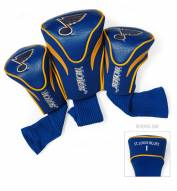 St. Louis Blues Golf Headcovers - 3 Pack
