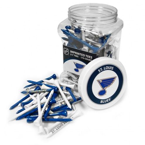 St. Louis Blues 175 Golf Tee Jar