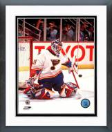 St. Louis Blues Grant Fuhr Action Framed Photo