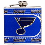 St. Louis Blues Hi-Def Stainless Steel Flask