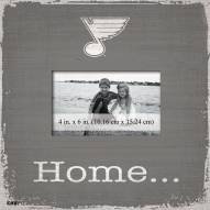 St. Louis Blues Home Picture Frame