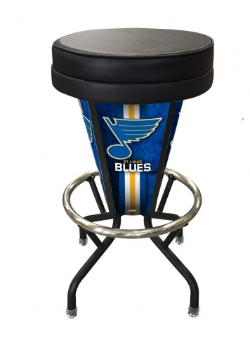 St. Louis Blues Indoor/Outdoor Lighted Bar Stool
