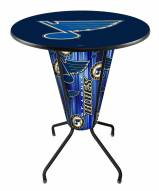 St. Louis Blues Indoor/Outdoor Lighted Pub Table