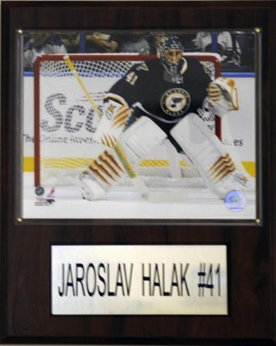 """St. Louis Blues Jaroslav Halak 12"""" x 15"""" Player Plaque"""